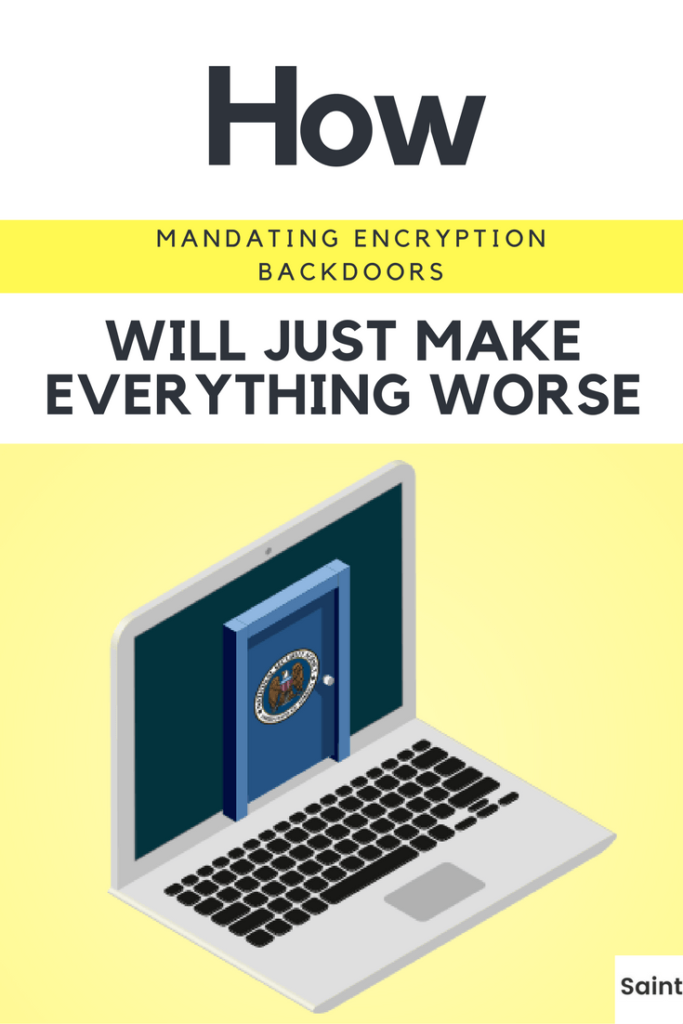 Mandating Encryption Backdoors