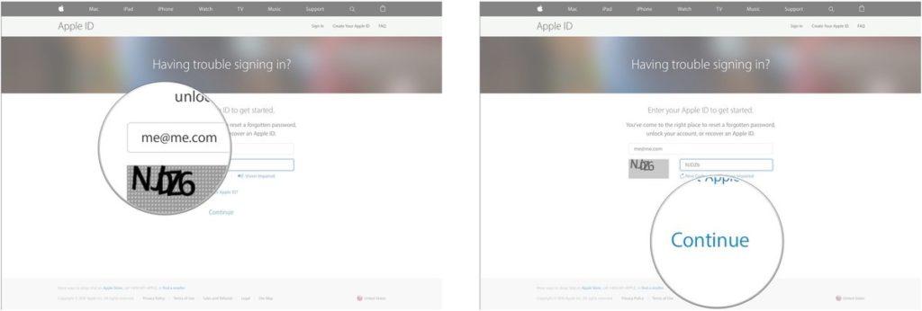 Change Email Address Apple ID