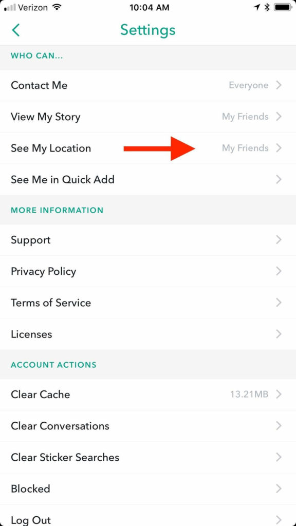 How to turn off Snapchat Snap Maps