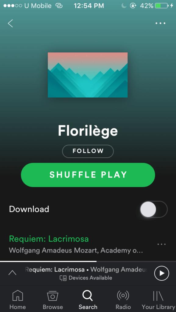Spotify Shuffle play is not random