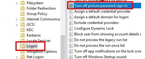 add picture password in windows 10