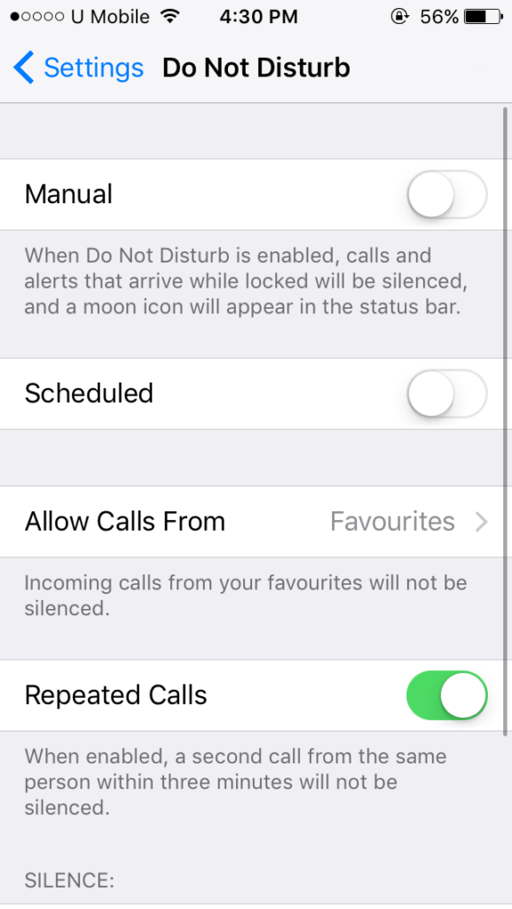 iphone does not ring