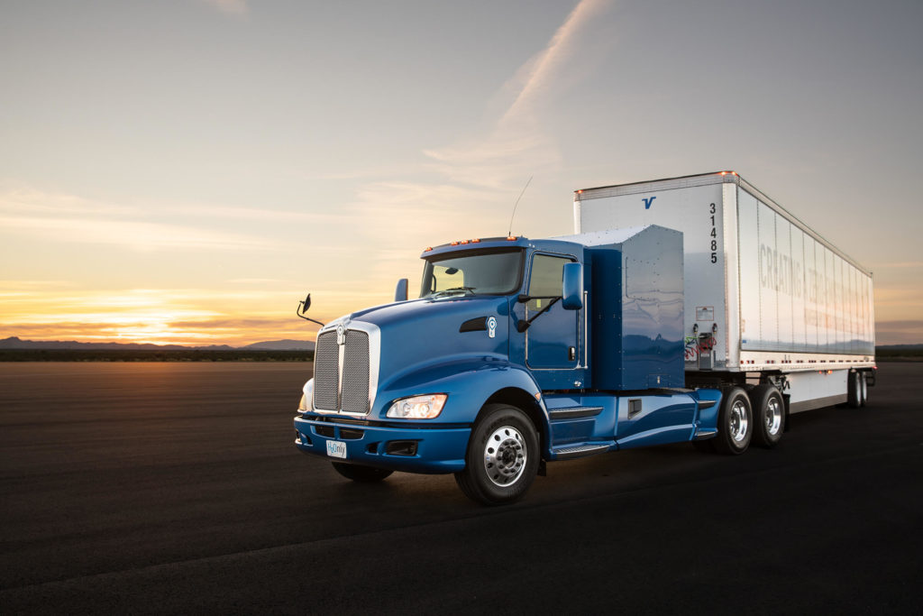 toyota hydrogen fuel cell truck port la