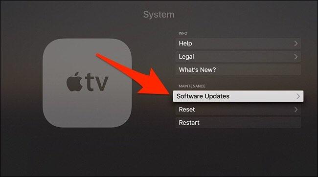 update apple tv to tvos 11