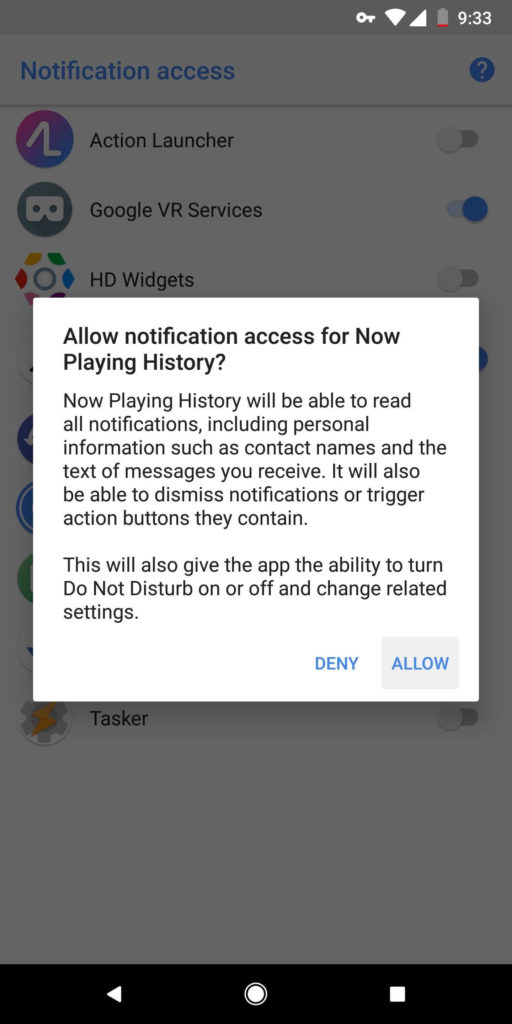 see all songs pixel 2 has recognized with Now Playing