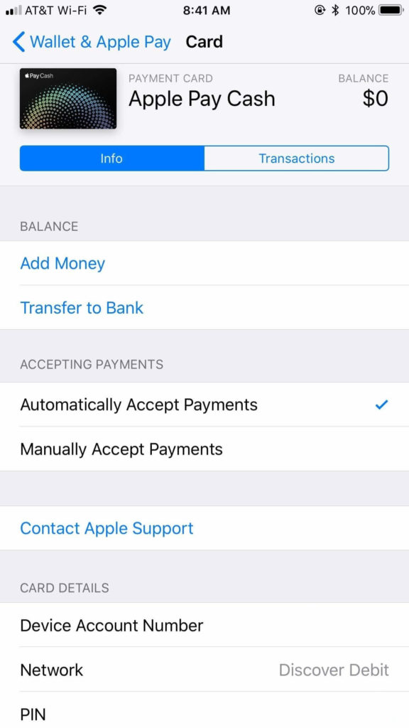 add money to Apple Pay Cash