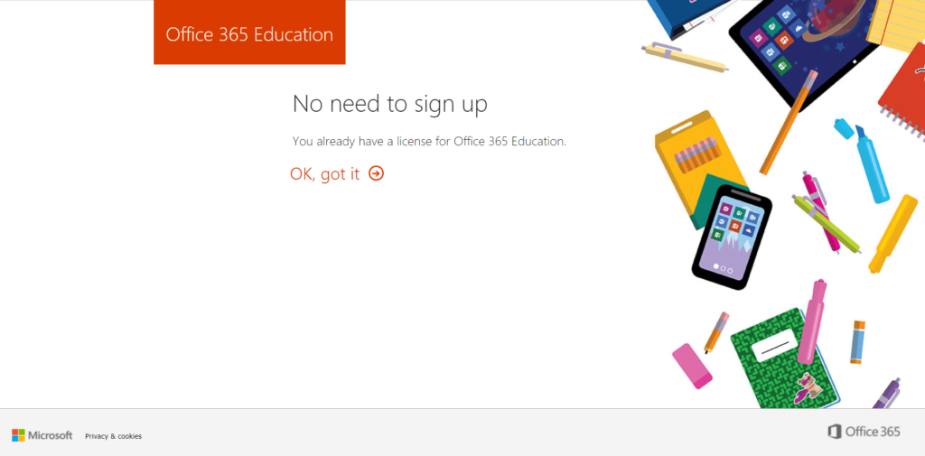 get microsoft office 365 for free
