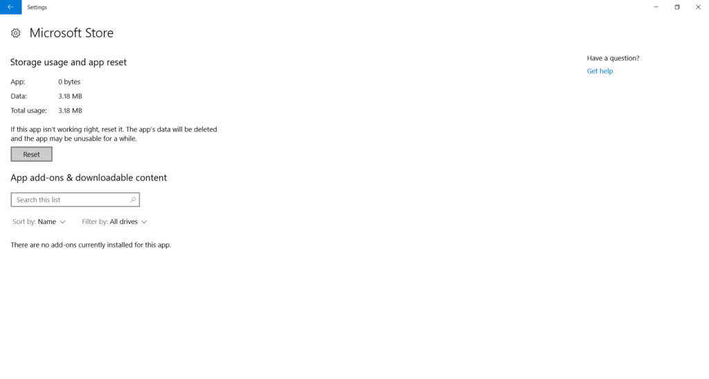 fix microsoft store refresh loop on windows 10
