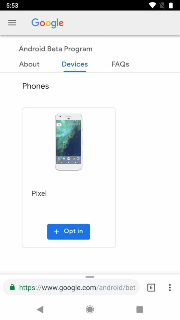 install Android P Beta on Google Pixel 2